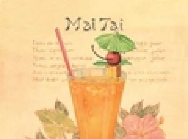 The Mai-tai From Poipu Beach (mai-tai Means Good In Tahitian,  Poipu Means Crashing Waves In Hawaiian. Recipe