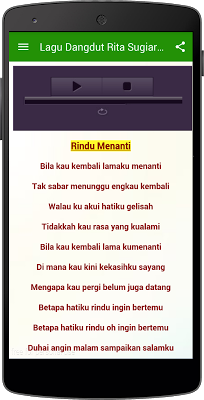 Top Lagu Dangdut RIta Sugarto - screenshot