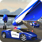 Police Plane Transporter Game icon