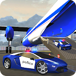 Police Plane Transporter Game Icon
