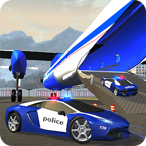 Police Plane Transporter Game for PC and MAC
