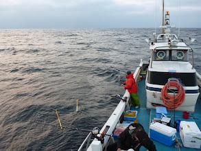 Photo: 最近、絶好調の真鯛釣り! 今日もいっぱい釣れますように・・・。