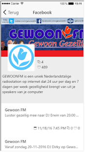 GewoonFM- screenshot thumbnail