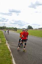 Photo: Hervé donne un cours en roulant ?