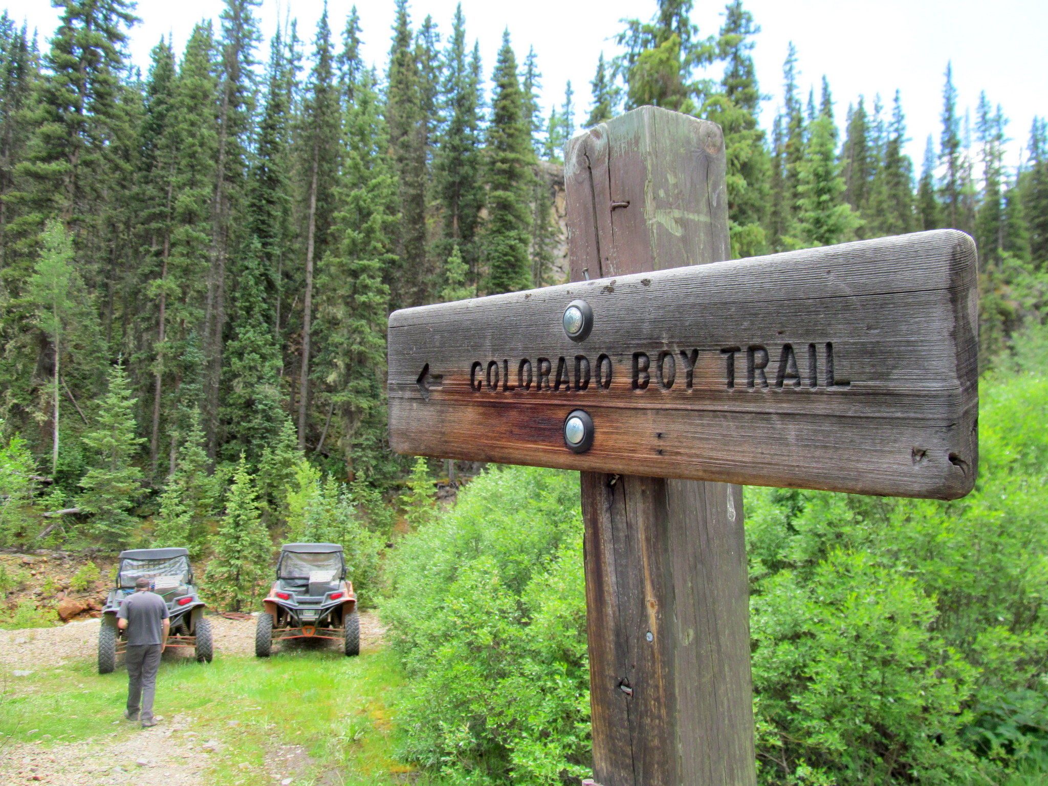 Photo: Colorado Boy Trail