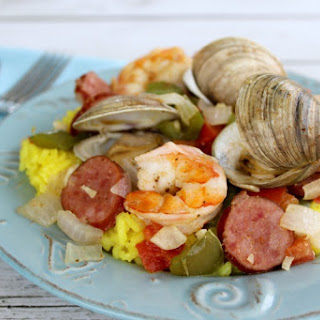 Seafood Lover'S Shrimp & Clams Over Rice Recipe