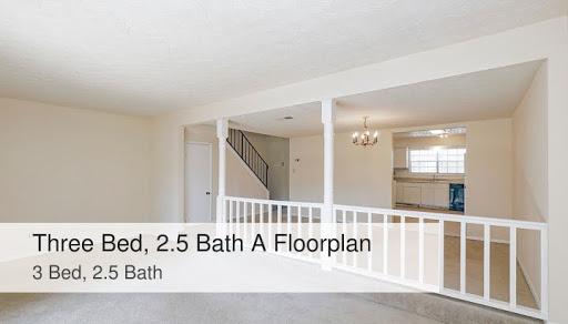 Three Bed 2 5 Bath A Floorplan Ashford Oaks Apts In Union City