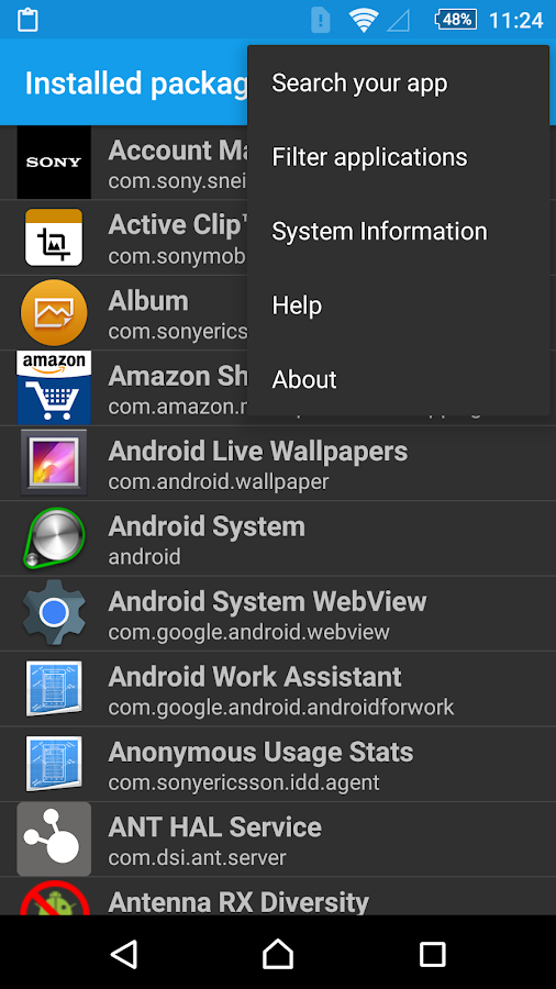 AppXplore- screenshot