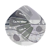 Grey mist GO Keyboard