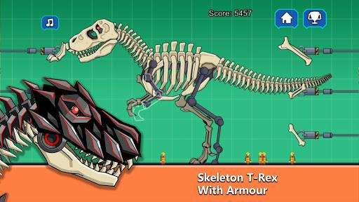 T-Rex Dinosaur Fossils Robot Age  {cheat|hack|gameplay|apk mod|resources generator} 1