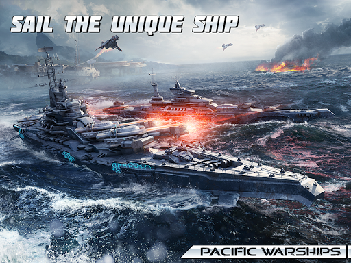 Pacific Warships: World of Naval PvP Warfare apktram screenshots 17