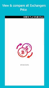 Bitcoin Rates - náhled