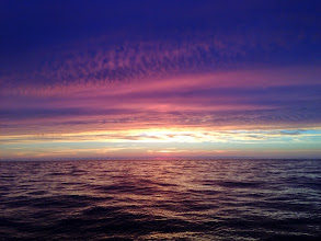 Photo: Beautiful sunset on the Gulf of Maine (Image courtesy of Gulf of Maine Deep Sea Coral Science Team 2014/NURTEC-UConn/NOAA Fisheries/UMaine)