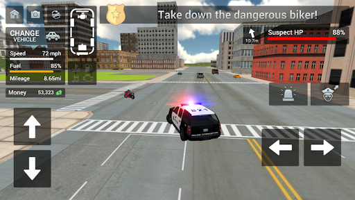 Cop Duty Police Car Simulator  captures d'écran 1