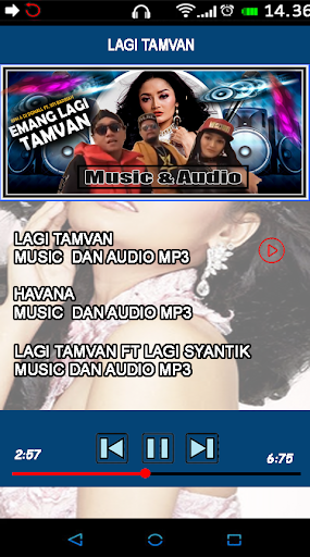 Lagu Lagi Tamvan Lagi Syantik Siti Badriah OFFLINE 1.5 screenshots 2