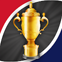Rugby World App Japan 2019: News Teams Cup Results icon