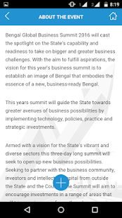 BENGAL GLOBAL BUSINESS SUMMIT- screenshot thumbnail