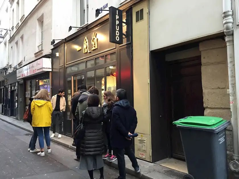 パリのラーメンと言えば一風堂
