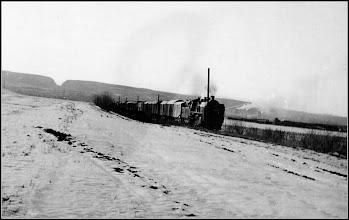 Photo: Tren de marfa intre Turda si Campia Turzii - 1969 - sursa R.C