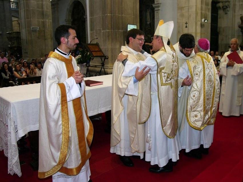 Bispo ordenou três sacerdotes para o serviço pastoral da diocese de Lamego