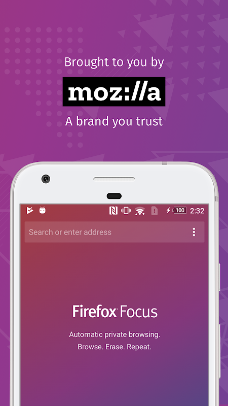 Firefox Focus: The privacy browser screenshots