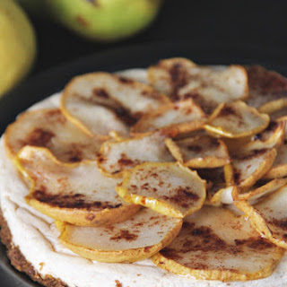 Honey Ginger Pear Cheesecake