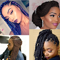 BRAID HAIRSTYLES 2021 icon