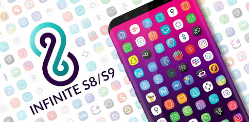 Infinite S9 Icon Pack app for Android screenshot