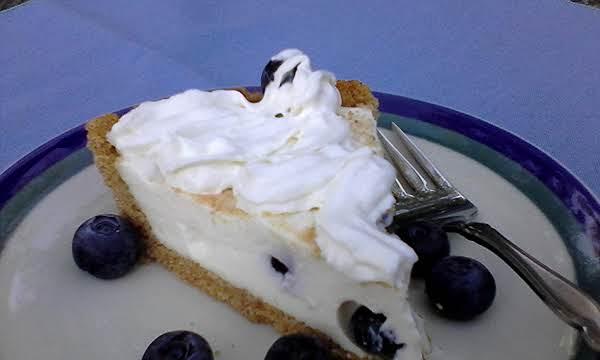 Blueberry Cream Pie Recipe