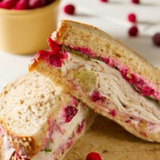 Gluten Free Orange Cranberry Sandwiches