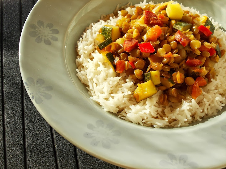 Spicy Lentils with Tomato and Chorizo Recipe