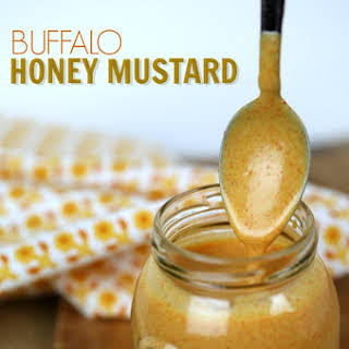 Buffalo Honey Mustard Dipping Sauce.