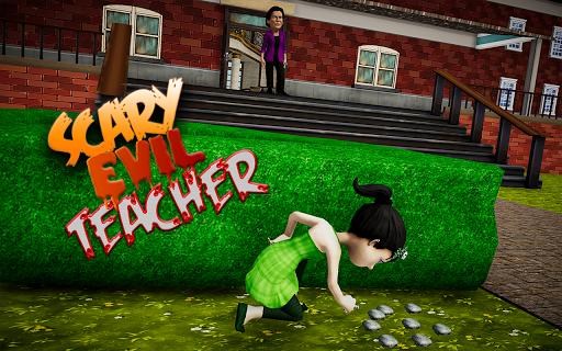Code Triche Crazy Scary Teacher - Scary High School Teacher APK MOD (Astuce) screenshots 3