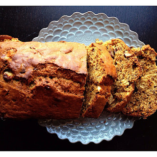 Coffee-cardamom Banana Bread With Cashew Nuts