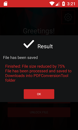 PDF Conversion Tool (no ads) screenshot 5