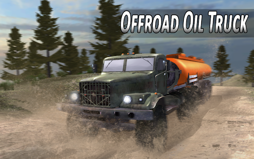 Offroad Oil Truck Simulator - náhled