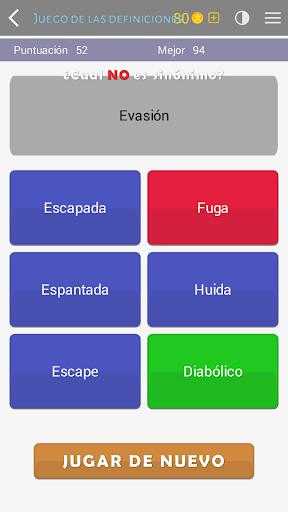Crosswords - Spanish version (Crucigramas) 1.1.4 screenshots 4