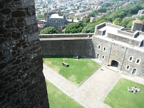 Photo: View from the top of Dover Castle