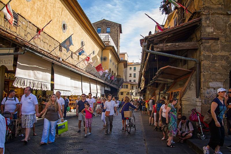 Turismo a Firenze d'agosto di Nicola Serena