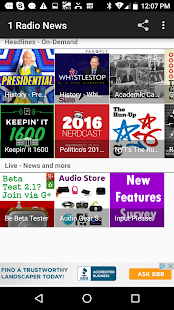 1 Radio News - World News- screenshot thumbnail