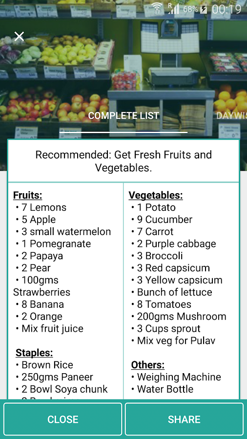 Indian weight loss GM Diet- screenshot
