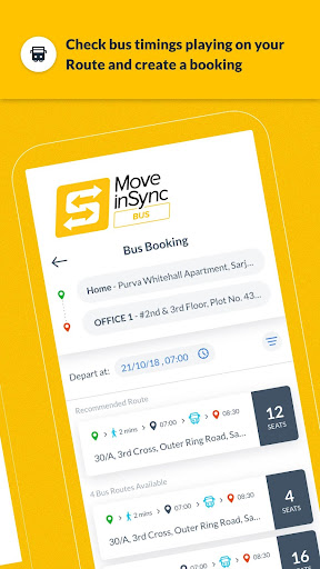 MoveInSync - Office commute solution 7.5.1 screenshots 8