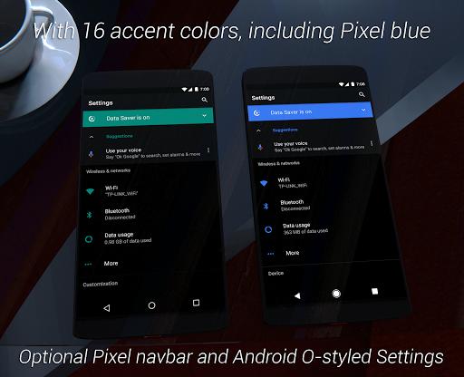 Substratum Black Theme+Samsung,Oreo,Pixel [aospUI]  screenshots 2