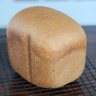 Honey Whole-Wheat Sandwich Bread (for bread machine).