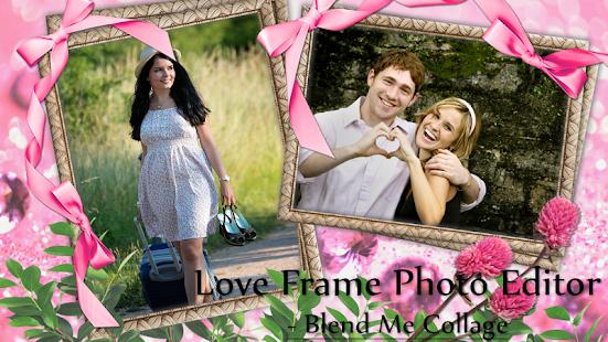 Love Frame Photo Editor - Blend Me Collage - náhled