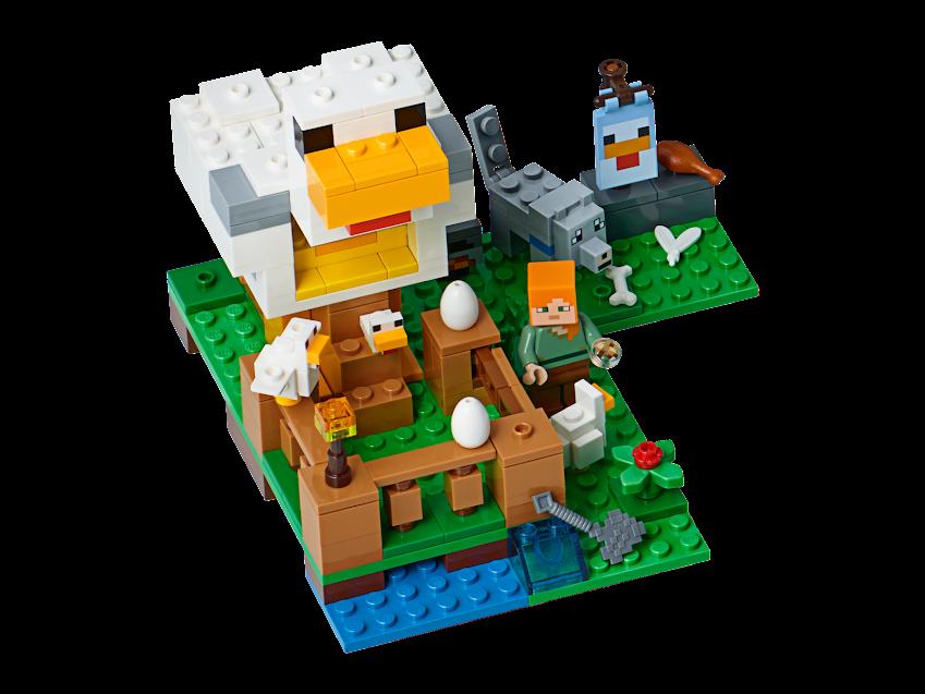 Contenido de Lego® 21140 El Gallinero