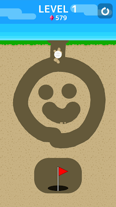 Ballz Cave - 穴掘りボールパズルゲームのおすすめ画像1