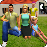 Virtual Family Happy hilly Adventure Icon