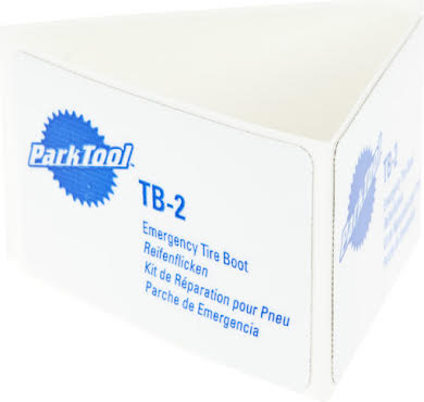 Park Tool TB-2 Emergency Tire Boots, Pack of 3 alternate image 1