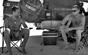 Photo: Chilling out at Wedge Island, Western Australia